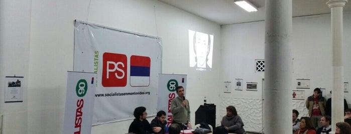 Partido Socialista del Uruguay - Departamental de Montevideo is one of Tempat yang Disukai Diego.