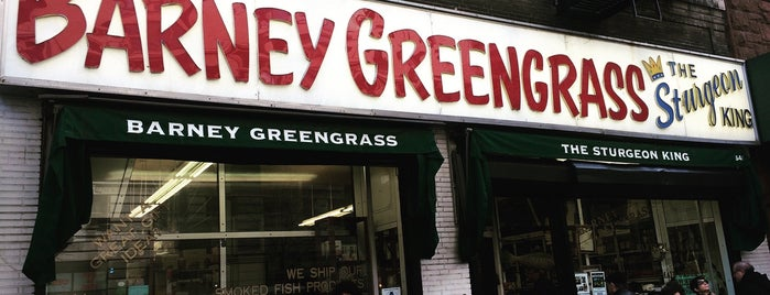 Barney Greengrass is one of Manhattan To-Do's (Above 34th Street).