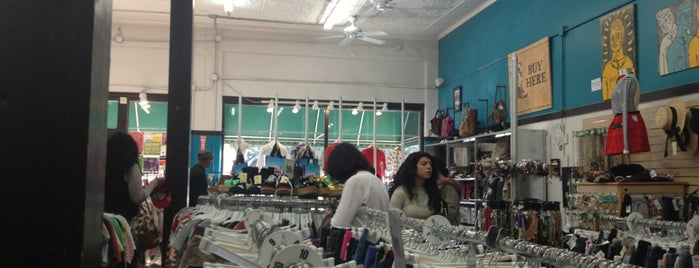 Buffalo Exchange is one of * Gr8 Dallas Shopping (non-grocery).