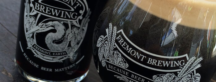 Fremont Brewing Company is one of B's Seattle.
