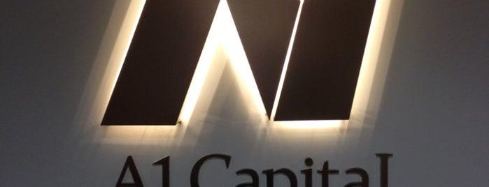 A1 Capital Menkul Değerler A.Ş. is one of Lugares favoritos de Tuna.