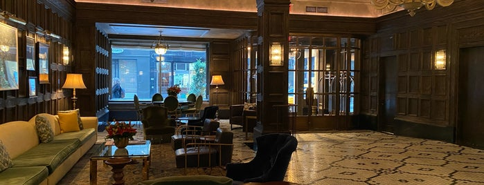 The Beekman – A Thompson Hotel is one of NYC.