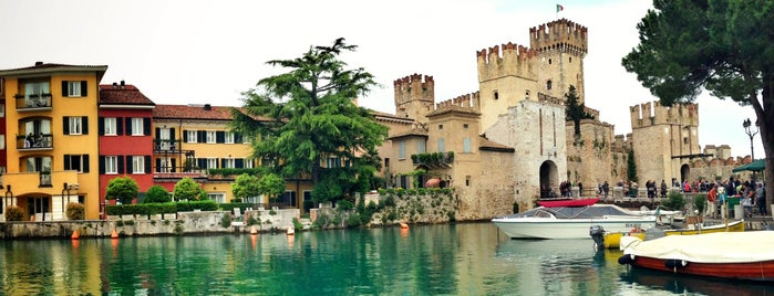 Castello Scaligero is one of Trips / Tuscany and Lake Garda.