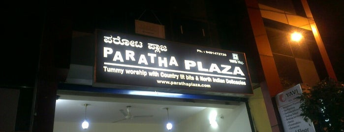 Paratha plaza is one of Ashwin's Liked Places.