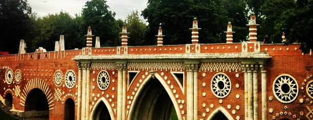 Parque Tsaritsyno is one of Russia10.