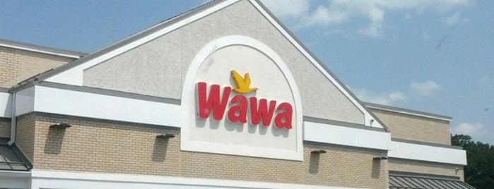Wawa is one of สถานที่ที่บันทึกไว้ของ kazahel.