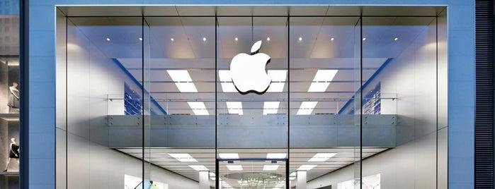 Apple Shanghai iapm is one of Nathan'ın Beğendiği Mekanlar.
