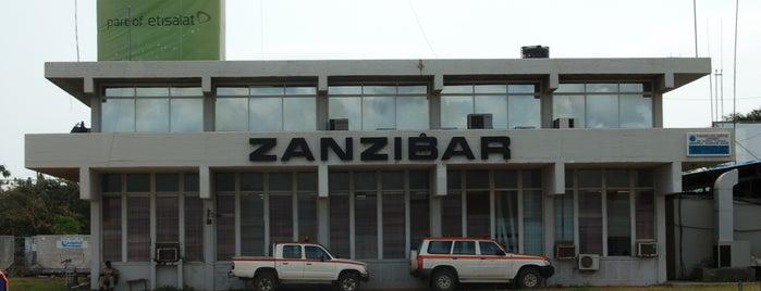 Abeid Amani Karume International Airport (ZNZ) is one of Tanzanya Zanzibar Gezilecek Yerler.
