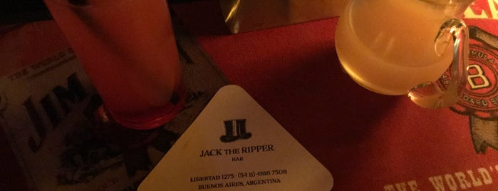 Jack The Ripper is one of Tempat yang Disukai Sabrina.
