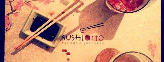 Sushi Arte is one of Curitiba Bon Vivant & Gourmet.