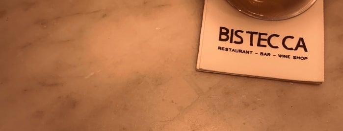 Bistecca is one of George'nin Kaydettiği Mekanlar.