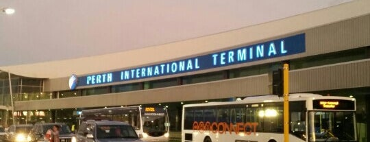 Perth Airport (PER) is one of Transport Hubs ✈️🚄.
