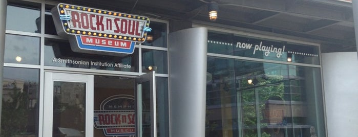 Rock'n'Soul Museum is one of Memphis.