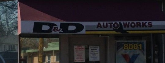 D&D Autoworks is one of Locais curtidos por Mackenzie.