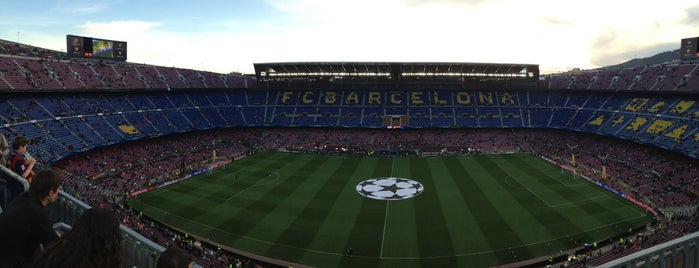 Camp Nou is one of Barcelona -: Places Worth Going To!.