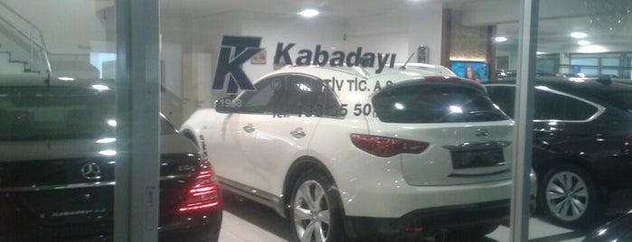 Kabadayı Otomotiv Ticaret Anonim Şirketi is one of Tempat yang Disukai Olcay.