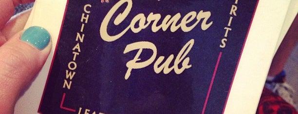 The Corner Pub is one of Boston Bound.