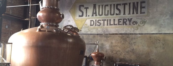 St. Augustine Distillery is one of Locais curtidos por Donna.