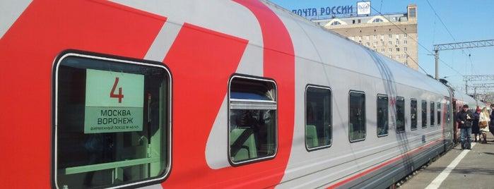 Поезд № 46 Москва — Воронеж is one of Posti che sono piaciuti a Pavel.