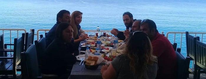 Deniz Beach Meyhane is one of สถานที่ที่ Ebru ถูกใจ.