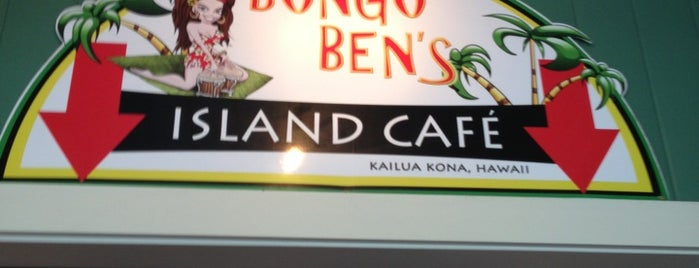 Bongo Ben's Island Cafe is one of Kona.