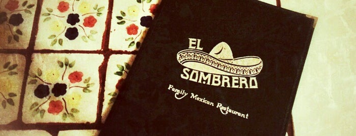 El Sombrero Mexican Restaurant is one of Locais curtidos por Gaston.