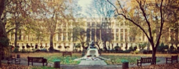 Tavistock Square is one of My London.