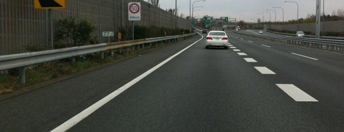 鶴ヶ島JCT is one of 関越自動車道.