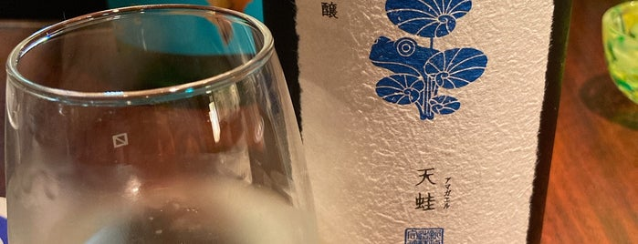 Akita Pure rice Sake Bar is one of Japan.