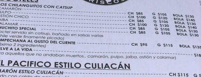 El Aguashile Mariscos is one of Locais curtidos por Maria Jose 🍍.