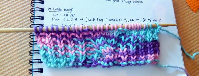 Poyeng Knit Shop is one of Orte, die Ammyta gefallen.