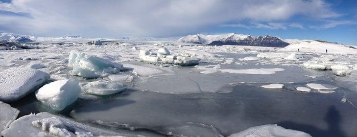 Gletscherlagune is one of Iceland.