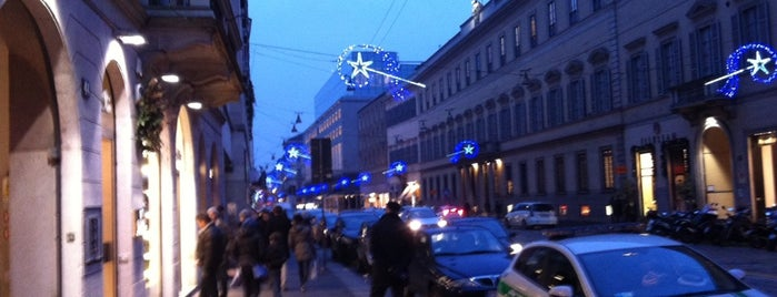 Via Manzoni is one of Milano.