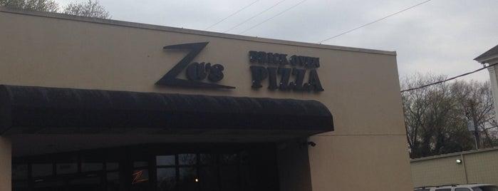 Za's Brick Oven Pizza is one of Charleston.
