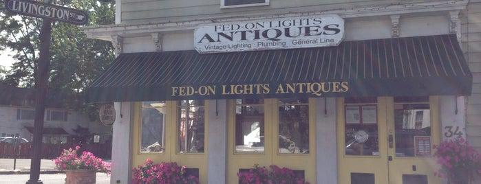 Fed-On Lights Antiques is one of สถานที่ที่บันทึกไว้ของ Gayla.