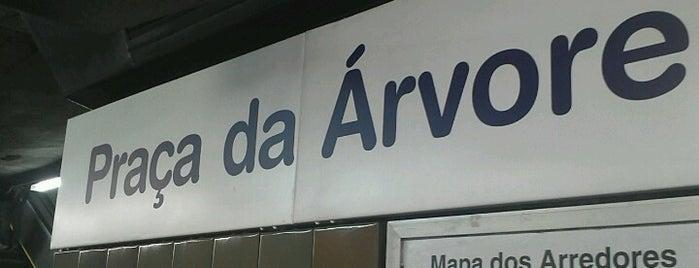 Estação Praça da Árvore (Metrô) is one of Lugares favoritos de M..