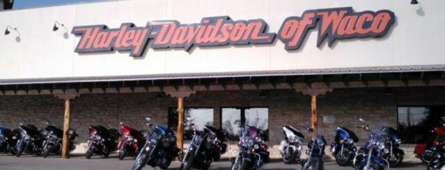 Harley-Davidson of Waco is one of Tempat yang Disukai Luiggio.