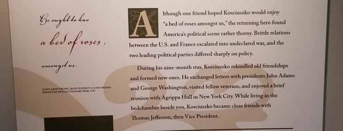 Thaddeus Kosciuszko National Memorial is one of Fun.