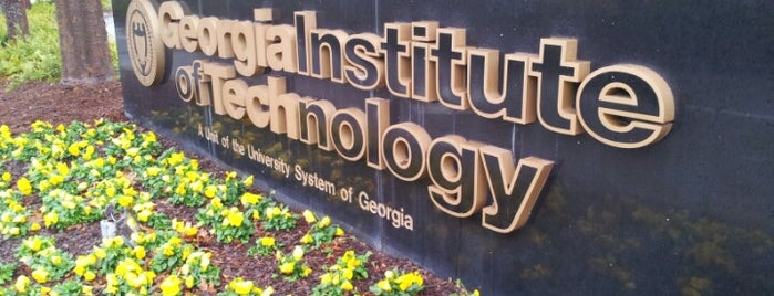 Georgia Institute of Technology is one of Favorite Spots in Atlanta.