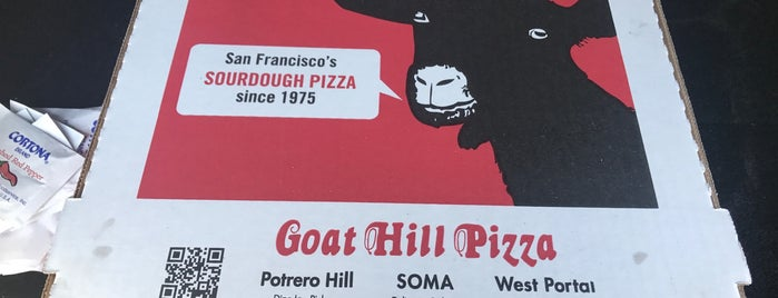 Goat Hill Pizza is one of Locais curtidos por Karen.