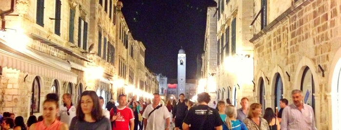 Placa (Stradun) is one of Dubrovnik.