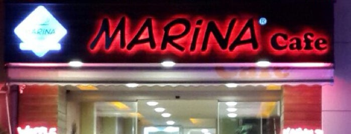 Marina Cafe is one of izmir.