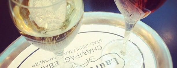 Champagnebar Laurent Perrier is one of สถานที่ที่บันทึกไว้ของ Rafaëla.