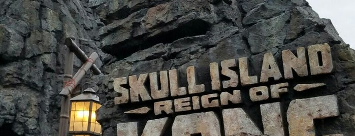 Skull Island: Reign of Kong is one of Lieux qui ont plu à Marlene.