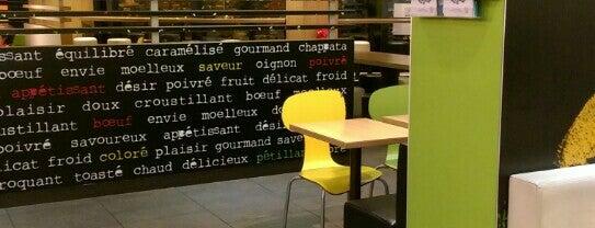 McDonald's is one of Lieux qui ont plu à Vicente.