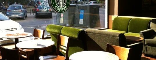 Starbucks is one of Cafeterías de Madrid.