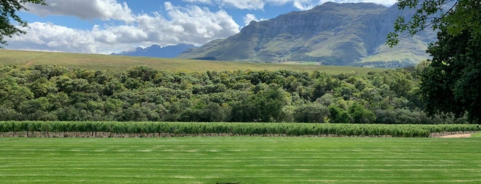 Rust en Vrede is one of South Africa.