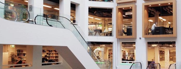 Københavns Hovedbibliotek is one of Coffee, work and wifi in Copenhagen.