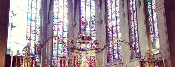 Cathedrale Notre-Dame de Luxembourg is one of Fernandoさんのお気に入りスポット.