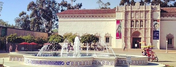 Balboa Park Fountain is one of SD.